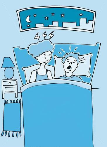 malo.Porque roncamos?