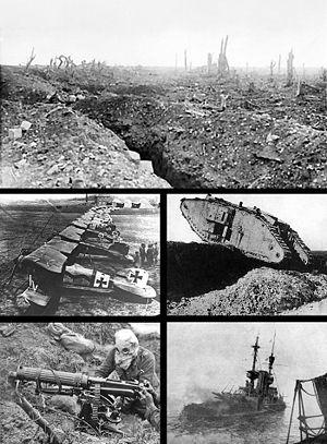 Primera Guerra Mundial. <<Miguel primo de rivera