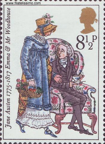 Sellos-Jane-Austen