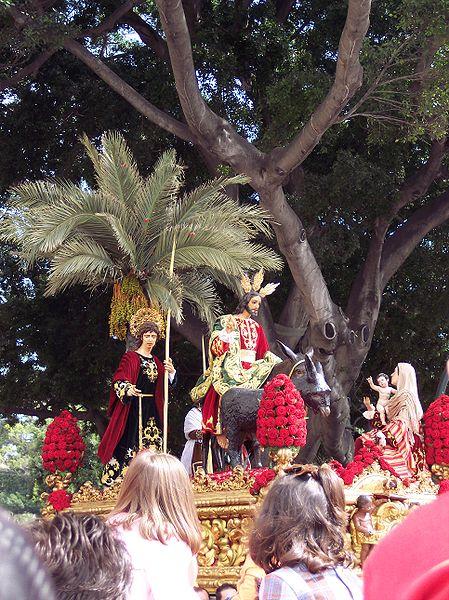 procesiones de semana santa malaga. semana santa malaga 2008